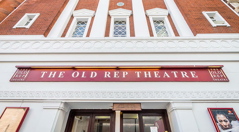 The Old Rep receives £60,000 grant from government's £1.56bn Culture Recovery Fund