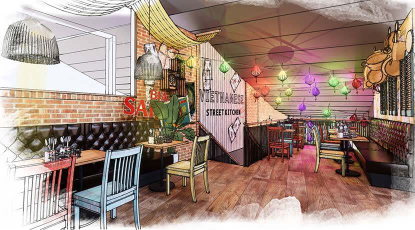 Vietnamese Street Kitchen to open at Birmingham's Bullring this November