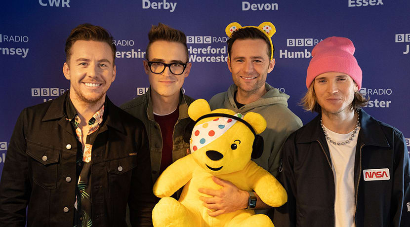 McFly and Local BBC Radio launch The Big Bubble Singalong for Children in Need