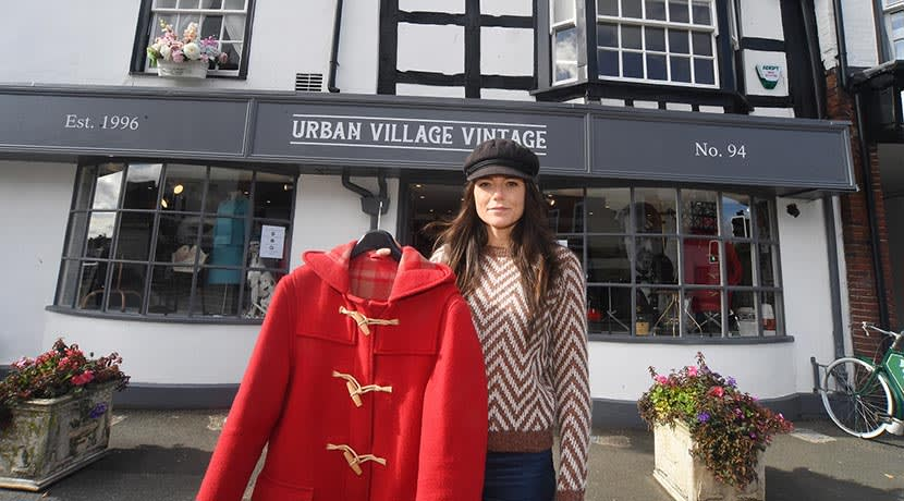 Popular vintage store Urban Village relocates from Birmingham to Warwickshire town