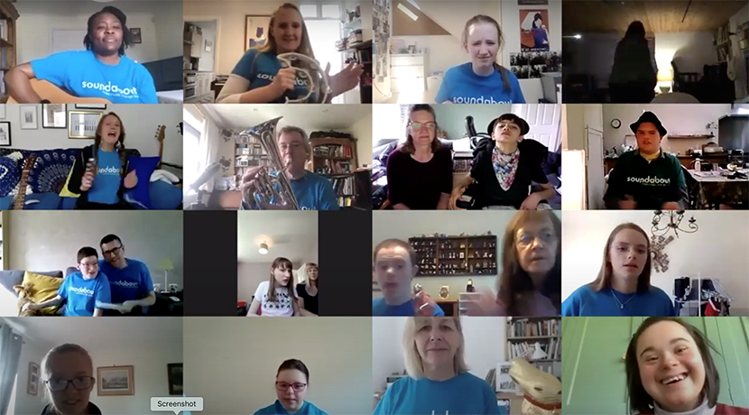 Charities MAC and Soundabout launch new virtual inclusive choir in the West Midlands