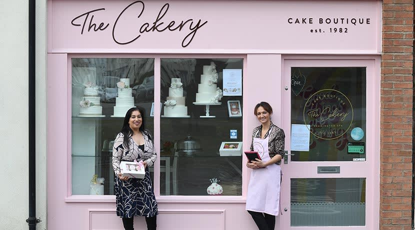 Sales rise at Leamington cake shop thanks to online orders
