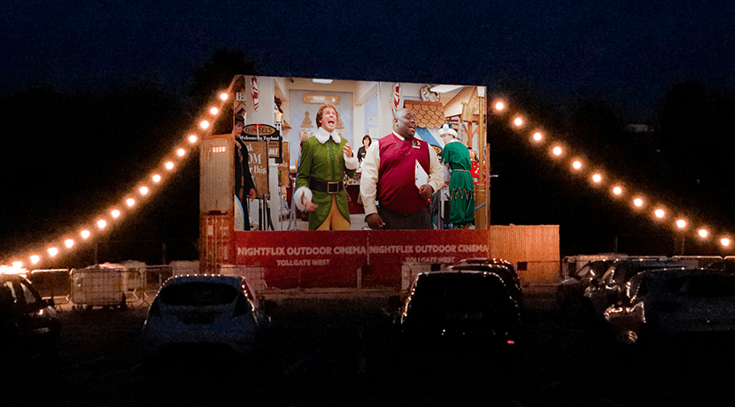 Nightflix festive drive-in cinema comes to the Midlands this Christmas