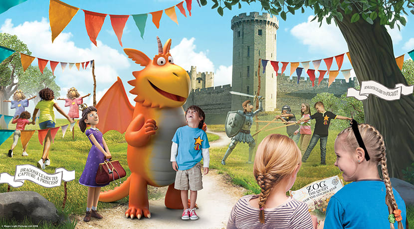 Warwick Castle reopens and launches all-new family attraction on 12 April