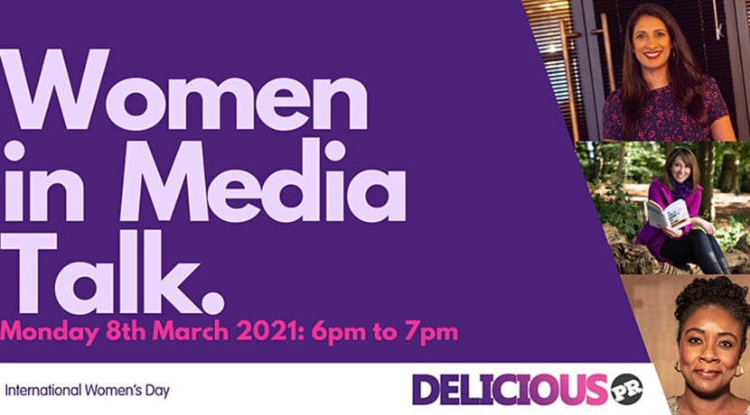 Delicious PR announce International Women's Day event