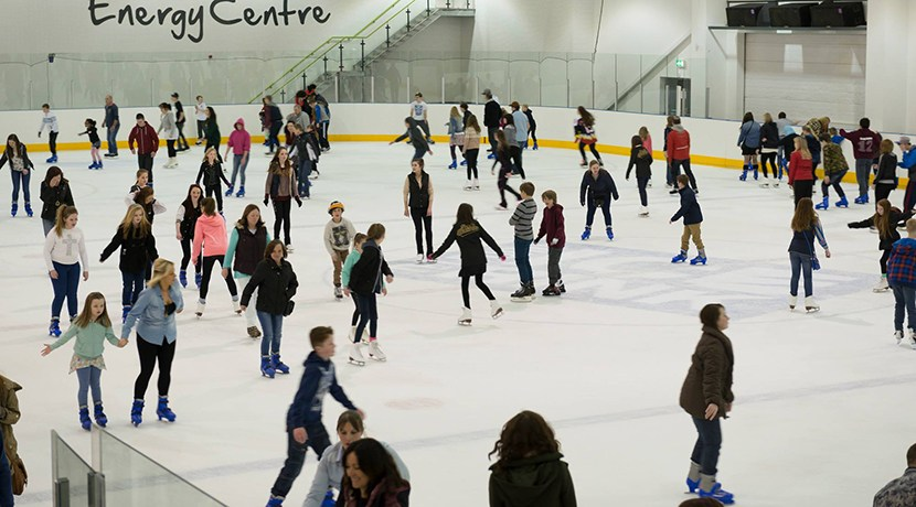 Shropshire ice rink has upgrade