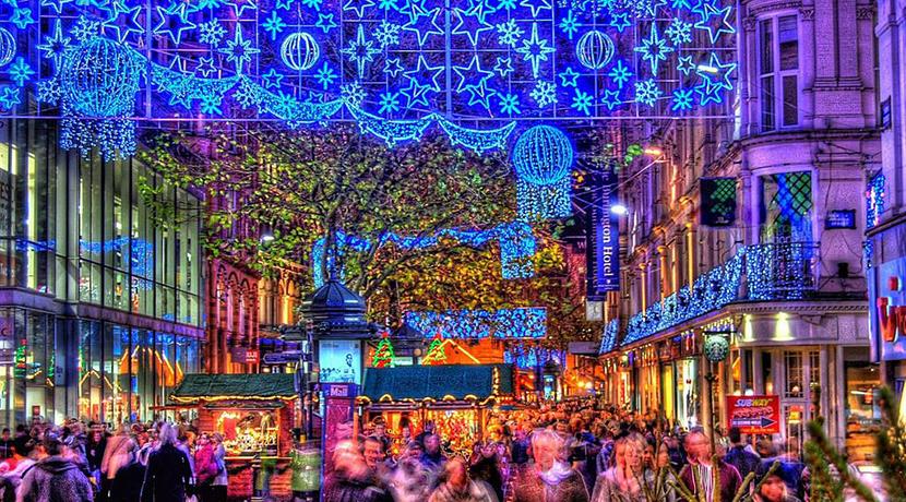 Birmingham Christmas Lights.Birmingham Christmas Light Switch On Date Revealed