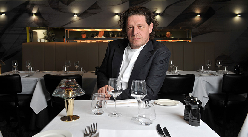 Meet Marco Pierre White and enjoy a three-course meal at The Cube