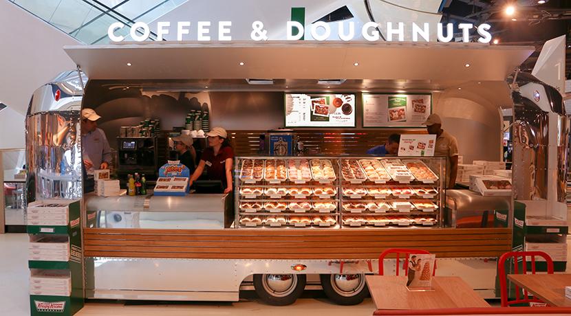 Get s'more with Krispy Kreme's new S'mores doughnuts at Selfridges Birmingham