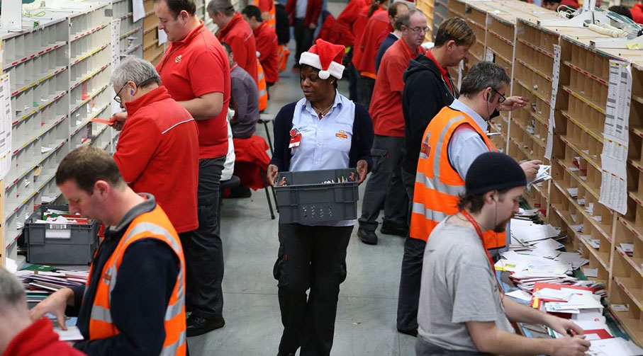 Royal Mail are looking for Christmas Casual recruits this festive season