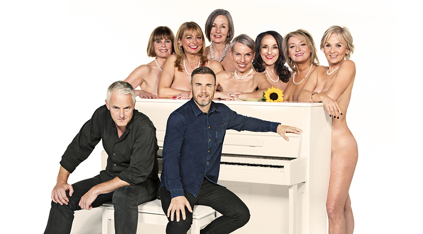 Talking Calendar Girls over a cuppa...