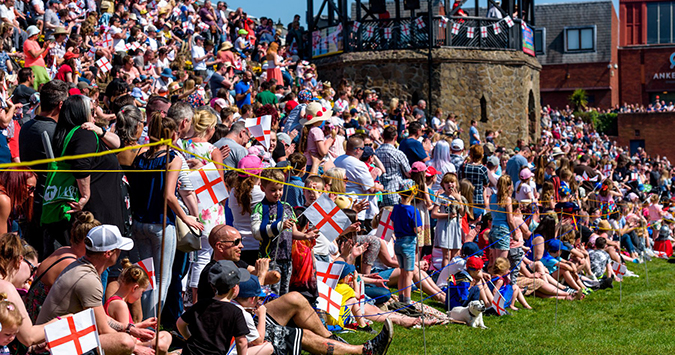 Sunny St George's Day is a record breaker!