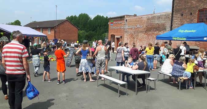 Free family fun at Shrewsbury's Flaxmill