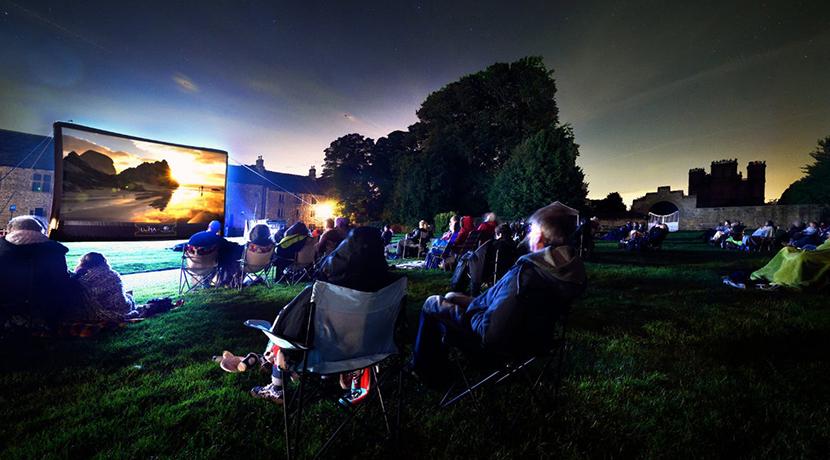 Summer film festival at Attingham Park