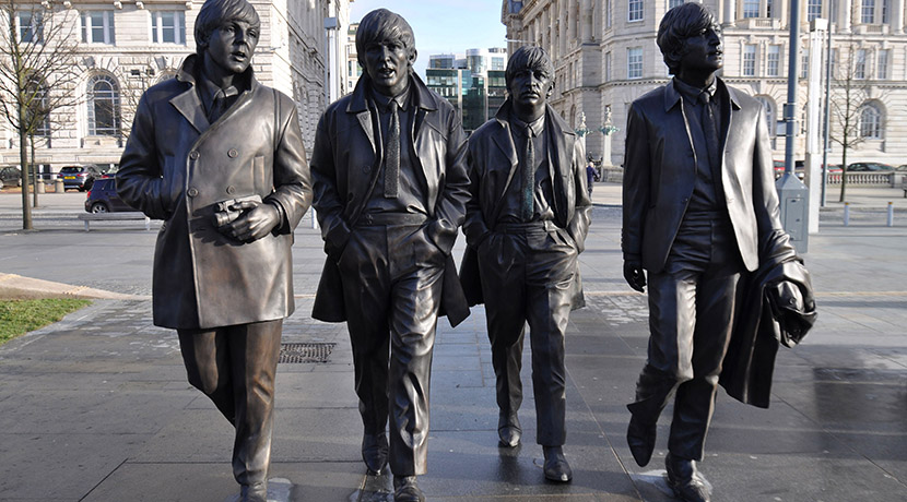 Beatles return to Shropshire