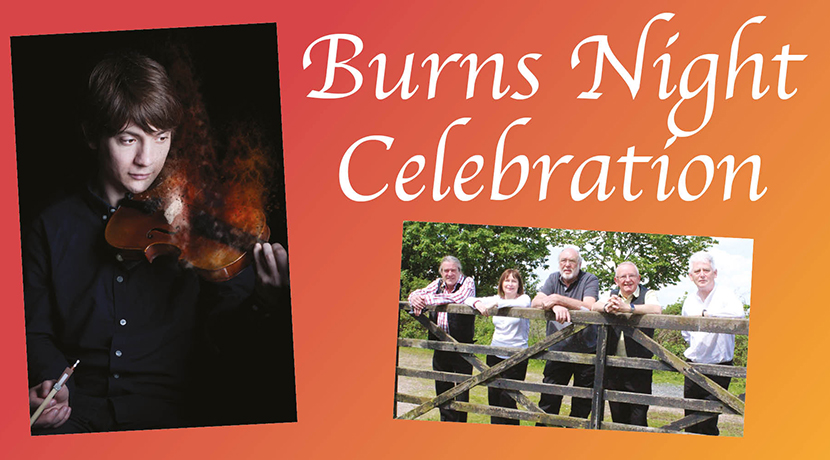 A celebration of Robbie Burns with music and dance