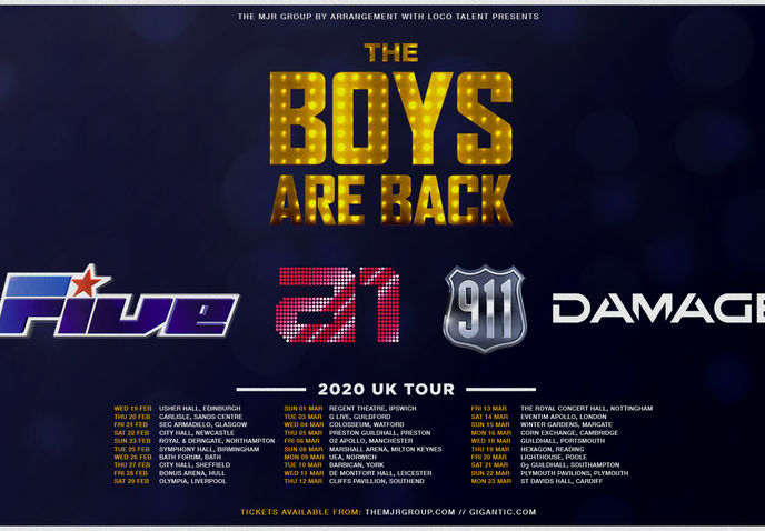 The boys are back! 5ive/A1/Damage/911