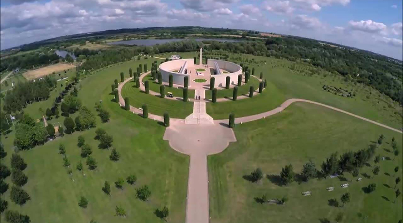 Celebration and remembrance, the National Memorial Arboretum in 2020