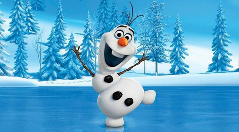 Snow Princesses get a chance to meet Olaf