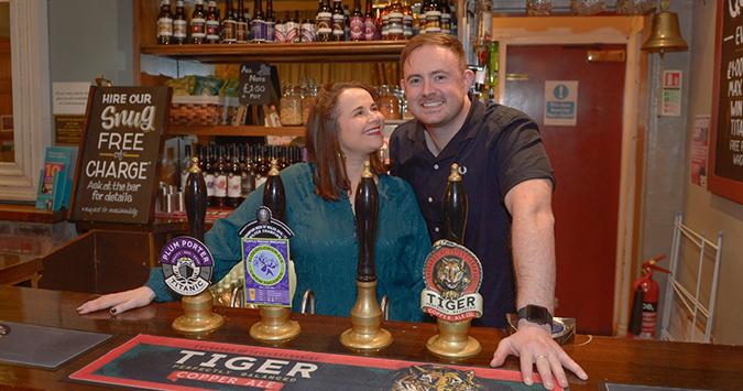 Stars of New Vic pub drama 'raise the bar'