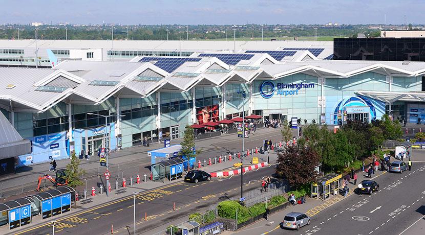 Birmingham Airport handled almost 12.7 million passengers in 2019