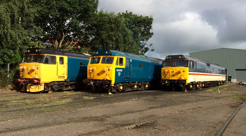 SVR 50th Anniversary celebrations
