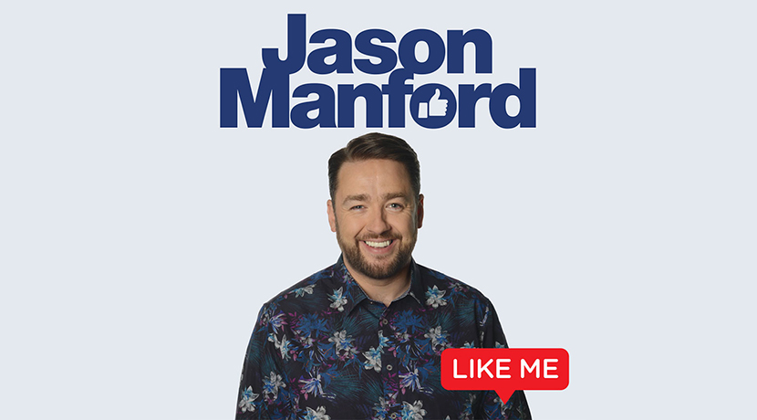 Jason Manford's latest comedy tour to include Telford date