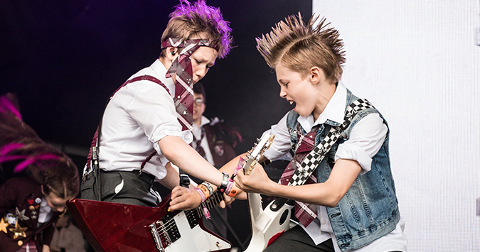 School of Rock - The Musical comes to Stoke