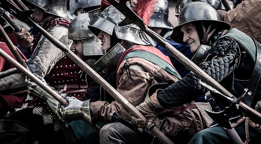Medieval St George's Day Celebration