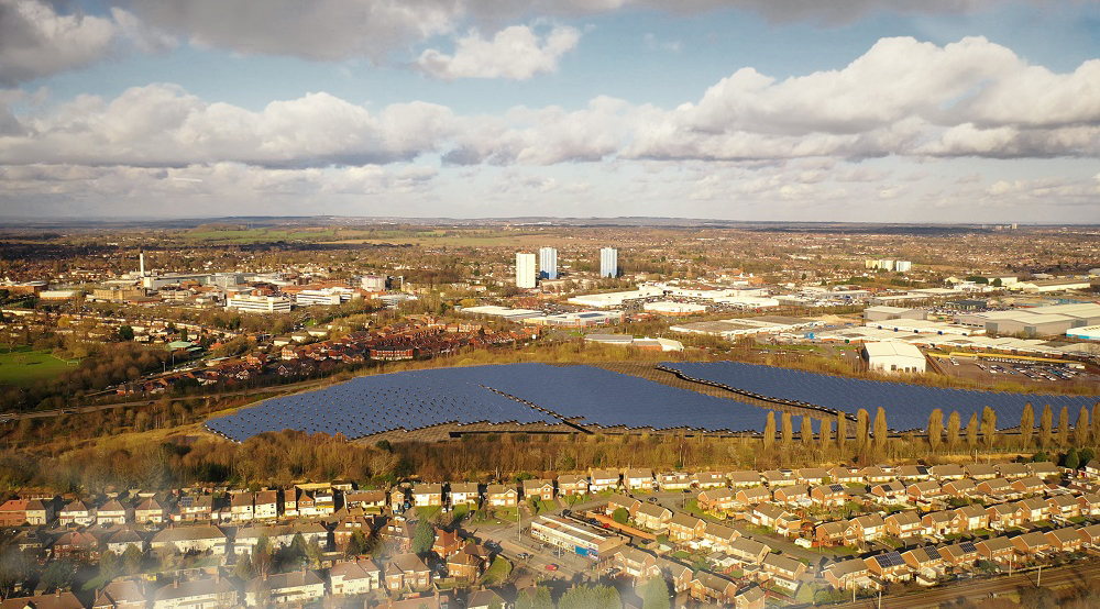 Wolverhampton Council announces plans for its first solar farm development