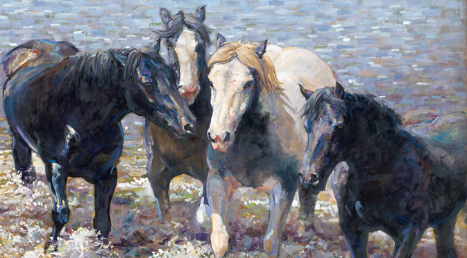 The Society of Equestrian Artists Exhibition