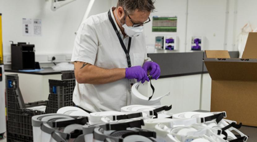 Jaguar Land Rover to supply 5,000 visors per week for NHS staff on the coronavirus frontline