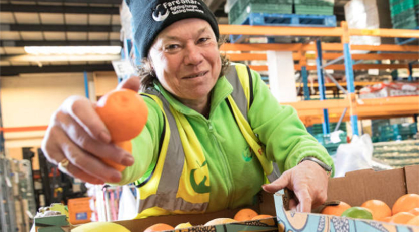 UK food charity in call for donations and volunteers