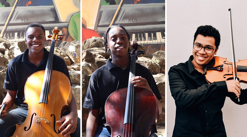 Three teenage South African stars win UK music scholarships