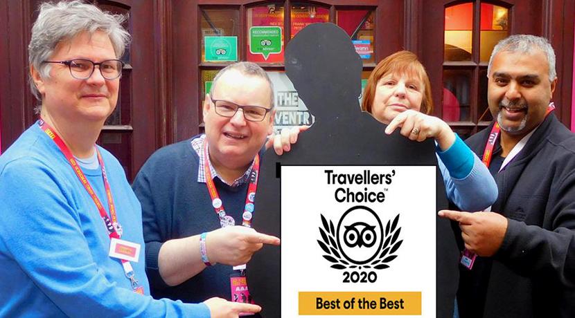 Coventry Music Museum wins prestigious award from Trip Advisor