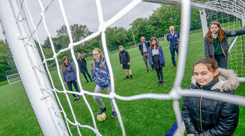 Coventry school launches new sports pitch that will benefit the community