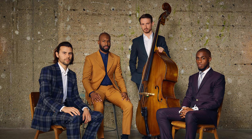 Concert from award-winning jazz quartet to be broadcast online by world-renowned concert hall