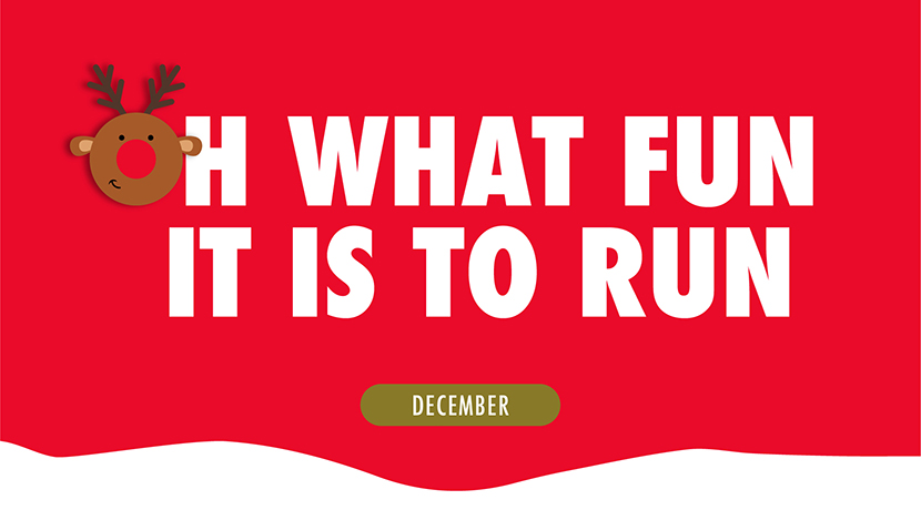 Great Run launch 12 Runs Of Christmas December challenge