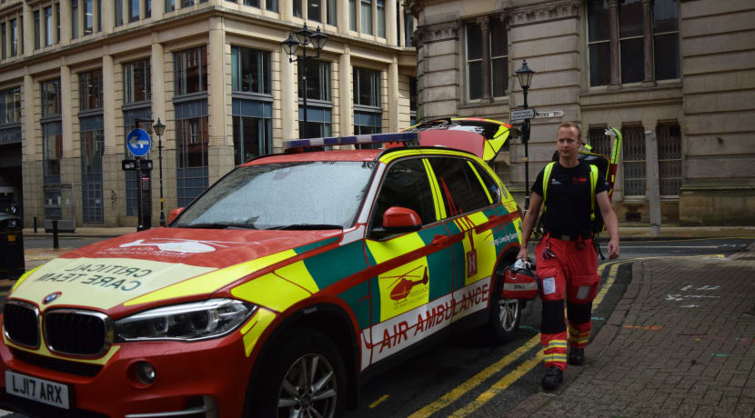 Lifesaving work of Midlands Air Ambulance Charity to feature on TV screens this week