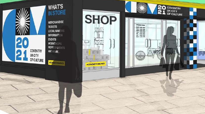Coventry City of Culture to open new retail store and information centre