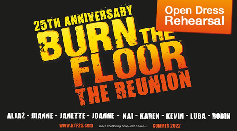 Burn the Floor - Open Dress Rehearsal