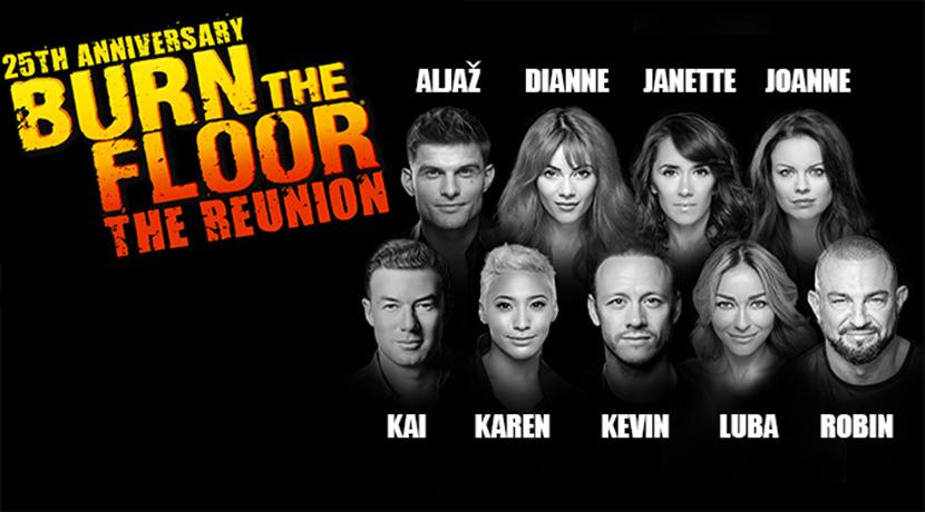 Burn The Floor - The Reunion