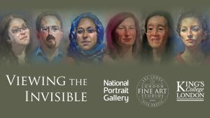 In Conversation: Viewing the Invisible: Live portrait-painting & panel discussion exploring creativity in art and science