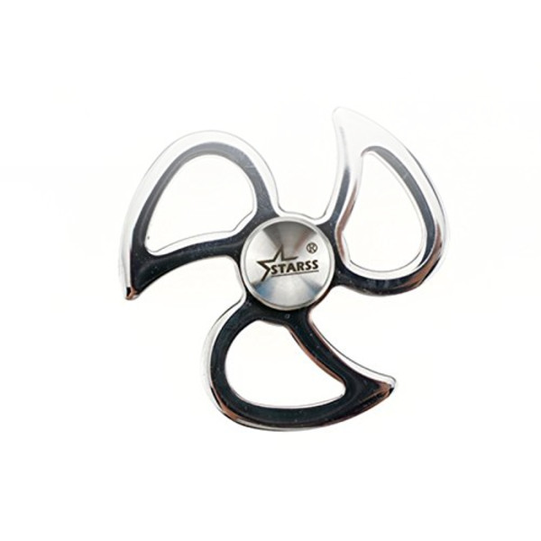 Starss Fidget Spinner Solid Stainless Steel High-end Hand Spinner Super Smooth R188 Bearing 5mins Spin Time EDC Toy Stress Reducer for ADHD