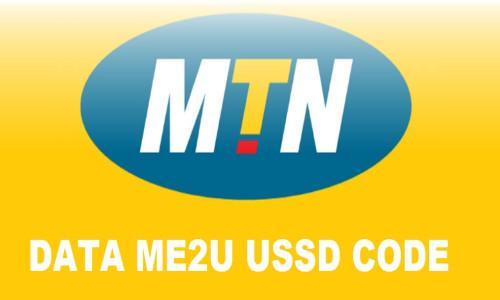 MTN Data me2u ussd code