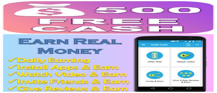 Daily_Cash_Earn_Money_App