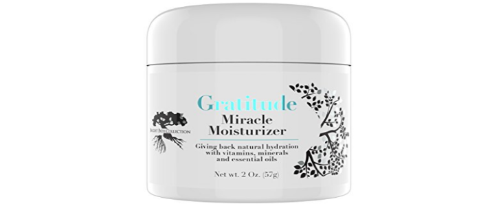 Gratitude Miracle Moisturizer Face Cream and Eye Cream by Bright Path