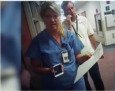 Salt Lake City Police Video Shows Nurse Arrest