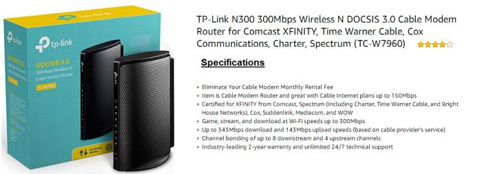 TP Link TC-W7960