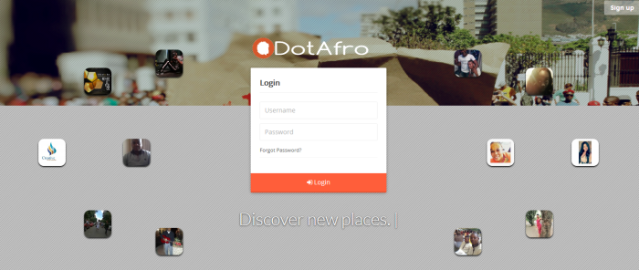Dotafro.com! The New Afro Centric Social Network Website